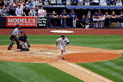 Jeter Photos - Derek Jeters 3000th hit 8 of 8 by James Jenks