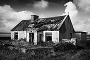 Diy Photos - Derelict Abandoned Old Irish Cottage In Remote County Sligo Republic Of Ireland by Joe Fox