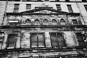 Glasgow City Centre Scotland Prints - Derelict Former Tobacco Warehouse James Watt Street Broomielaw Glasgow Scotland The Warehouse Shows  Print by Joe Fox