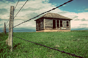 Abandoned House Photos - Derelict House on the Plains by Thomas Zimmerman