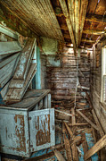Falling Down Prints - Derelict House Print by Thomas Zimmerman