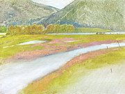 North Fork Originals - Derr Mountain Marshes by Robert Bissett