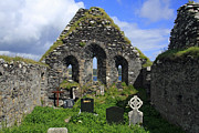 In Ruin Prints - Derrynane Abbey Print by Aidan Moran