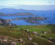 Hilltop Scenes Prints - Derrynane Harbour, Caherdaniel, Ring Of Print by The Irish Image Collection