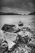 Stormy Weather Digital Art Posters - Derwent Water Poster by Andy Astbury