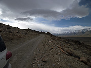 Dirt Roads Photos - Descending Lippincott Road - Death Valley by Joe Schofield