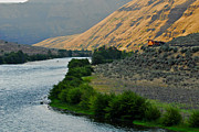 Deschutes River Prints - Deschutes Train Print by Michael Bartlett