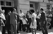 African-american Photo Framed Prints - Desegregation, 1963 Framed Print by Granger