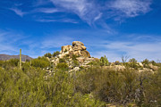 Scottsdale Photos - Desert Boulders by Scott Pellegrin