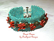 Coral Jewelry - Desert Dream by Patricia Griffin Brett