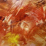 Encaustic Paintings - Desert land by Dragica  Micki Fortuna