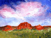 Canyons Paintings - Desert Meadow by Brett Winn