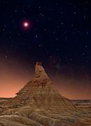 Desert Night Print by Inigo Cia
