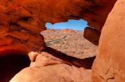 Valley Of Fire Framed Prints - Desert Portal  Framed Print by James Marvin Phelps