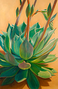 Succulent Prints - Desert Rainbow Print by Athena  Mantle