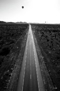 Louisiana Artist Metal Prints - Desert Road Metal Print by Scott Pellegrin