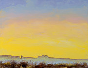 Photographs Painting Originals - Desert Sunset by Mayhem Mediums