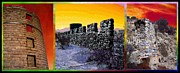 Desert Surrealism - Triptych Print by Glenn McCarthy Art and Photography