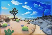 Desert Timeline Print by Snake Jagger