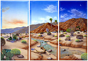 Stream Prints - Desert Vista Print by Snake Jagger