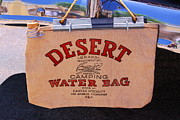 Cork Framed Prints - Desert Water Bag Framed Print by Viktor Savchenko