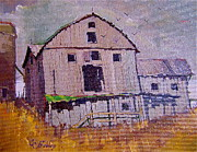 Farm Scenes Originals - Deserted by Clement richard Prebles