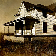 Abandoned House Prints - Deserted House Print by Bonnie Bruno