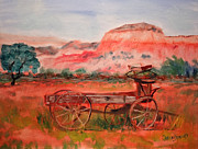 Caron Sue Staney - Deserted Wagon of Ghost...