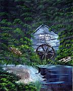 Edward C Van Wicklen Sr - Deserted Water Wheel...