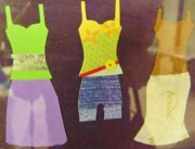 Clothes Clothing Mixed Media - Designer Clothes by Jeanette Oberholtzer