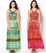 Dresses Tapestries - Textiles - Designer Dresses For Womens by Pradeep Nahata