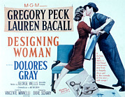 Films By Vincente Minnelli Posters - Designing Woman, Lauren Bacall, Gregory Poster by Everett