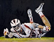 Lacrosse Paintings - Desire by Kenneth DelGatto