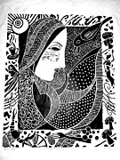 Print Making Prints - Desires Print by Daljeet  Kaur