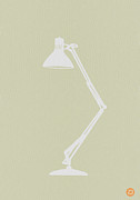 Mid Century Lamp Prints - Desk Lamp Print by Irina  March