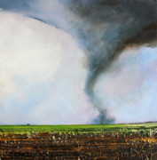 Tornado Prints - Desolate Tornado Print by Toni Grote