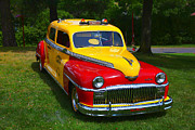 Cabs Framed Prints - DeSoto Skyview Taxi Framed Print by Garry Gay