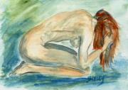 For The Home Paintings - Despair by Donna Blackhall