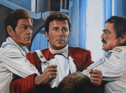 Star Trek Art - Desperation in His Eyes by Kim Lockman