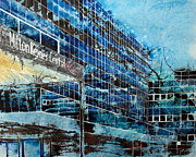 Milton Keynes Prints - Destination Anywhere Print by Cathy S R Read