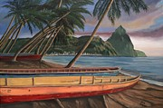 Canoes Originals - Destination Paradise by Elaine Haakenson