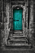Entrance Door Framed Prints - Destiny Awaits Framed Print by Evelina Kremsdorf