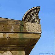 Photorealism Originals - Detail Lighthouse Egmond by Rob De Vries