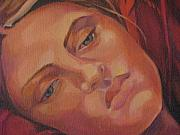 Julie Orsini Shakher Art - Detail of Dreamer by Julie Orsini Shakher