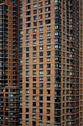 Conformity Photos - Detail Of High Rise-buildings, Manhattan, New York City, Usa by Frederick Bass
