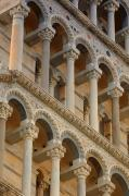 Medieval Temple Art - Detailed Close-up Of Piazza Del by Carson Ganci