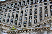 Broken Glass Art - Detroit Central Train Station 10 by Jim Vansant