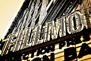 Downtown Detroit Framed Prints - Detroit Fillmore Theatre Framed Print by Alanna Pfeffer