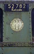 Deutsche Reichsbahn Print by Falko Follert
