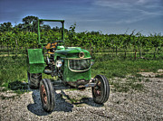 Grapes Photo Originals - Deutz Allis by William Fields